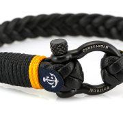 Constantin Nautics® Jack Tar  náramok z pravej kože CNJ10055-19